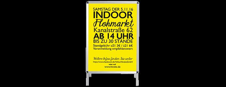 Plakat - Druckerei Hinzke in Lübeck